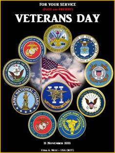 HONORING ALL SERVICE MEMBERS ON VETERANS DAY