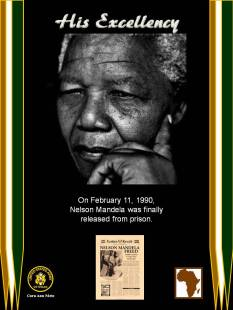 NELSON MANDELA RELEASED FROM PRISON (2)