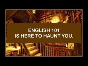 English 101.001