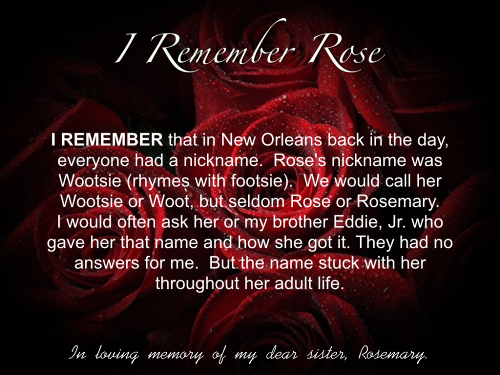 I REMEMBER ROSE PART ONE.004