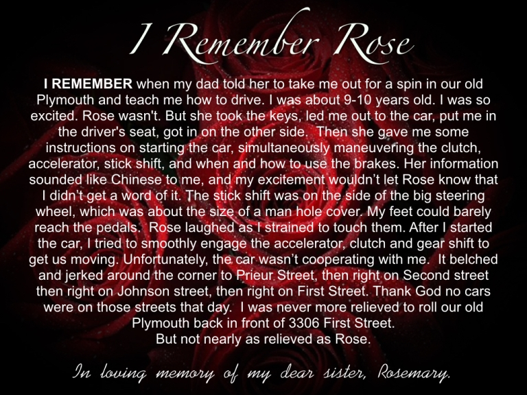 I REMEMBER ROSE PART ONE.005